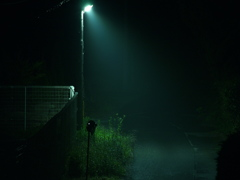 夜道 ~漆黒の影~