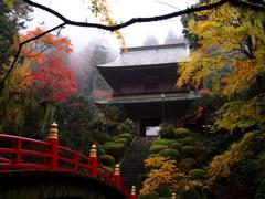 雲巌寺秋景