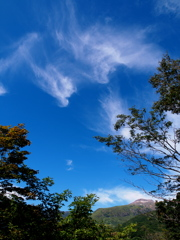 高原の蒼空