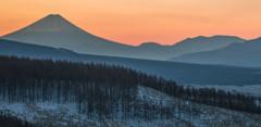 霧ヶ峰の朝