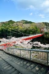 笠岩橋と桜 -2nd-