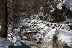 冬の渓谷:3