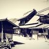 今に残る「突き上げ屋根」の家