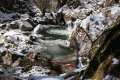 冬の渓谷:4