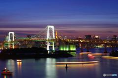 東京風景⑰ #レインボーブリッジ #お台場