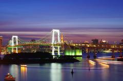 東京風景⑲ #お台場 #レインボーブリッジ