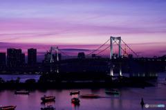 東京風景⑮ #お台場 #レインボーブリッジ
