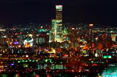 大阪夜景⑤【大阪府咲洲庁舎展望台より】