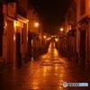 夜の裏通り in Macau
