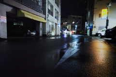 雨降る夜の街2