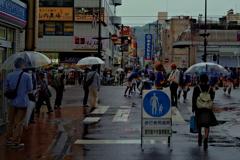 雨のおはら祭3