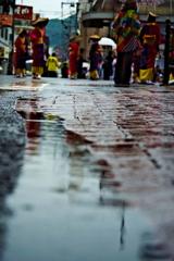 雨のおはら祭4