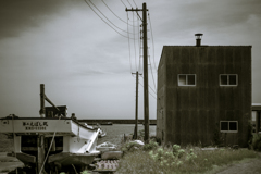 浜辺のお家