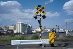 軍港の信号機