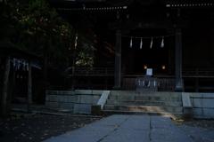 鎌倉五郎御霊神社本殿