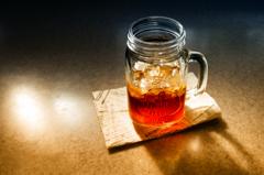 2021・09・21 Tue, 午後の麦茶(?_?)