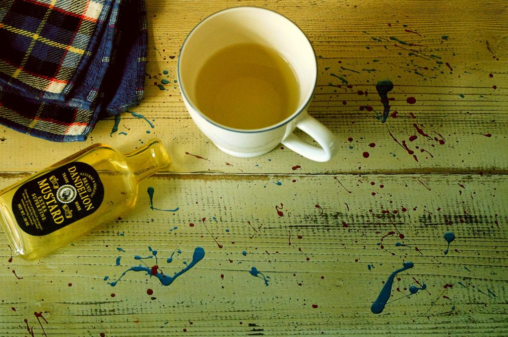 自粛は続く 5月8日の朝は日本茶と……