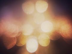 Unfocusing sparkles. -Ⅱ