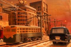 お菓子の電車。