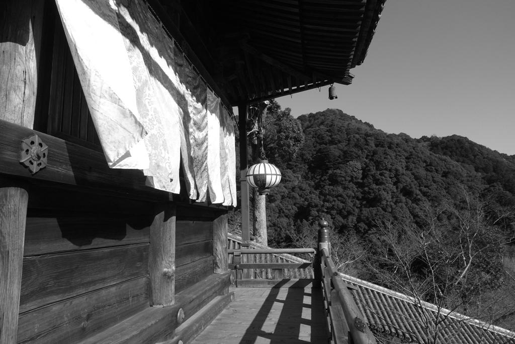 長谷寺本堂より与喜山