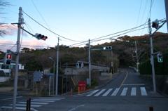 式根島唯一の信号