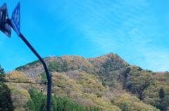 払沢の滝付近