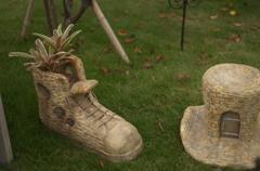 ブーツと帽子