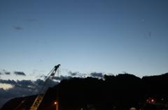 夜明けの伊豆大島