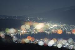 長野一の夜景