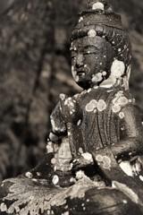 竹林の石仏様