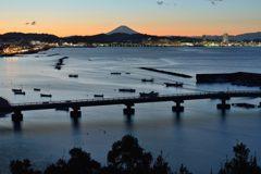 平日の富士山648