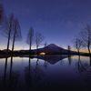 週末の富士山(新作160)