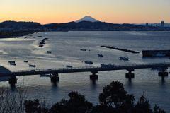 平日の富士山651