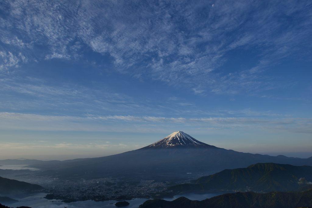 週末の富士山(新作220)
