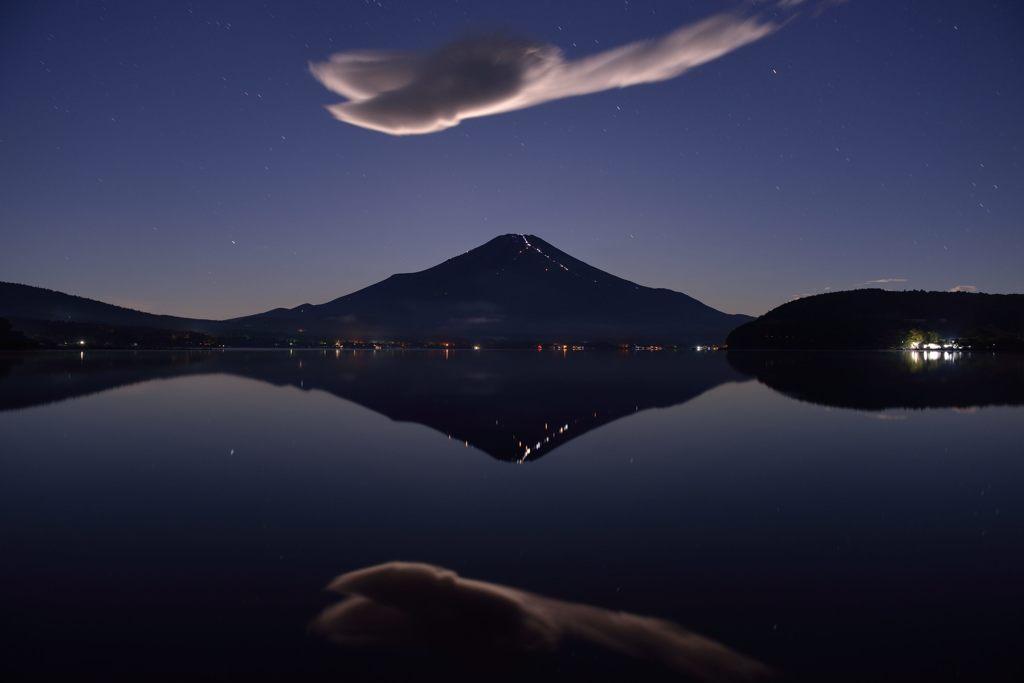 週末の富士山(新作1004)