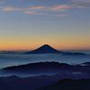 週末の富士山(新作263)