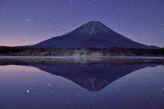週末の富士山(新作1085)
