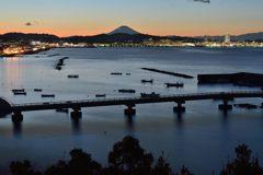 平日の富士山649