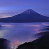 週末の富士山(新作432)