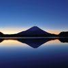 週末の富士山(新作79)