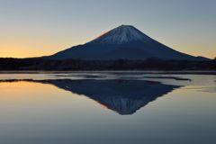 週末の富士山(新作1087)