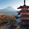 週末の富士山(新作320)