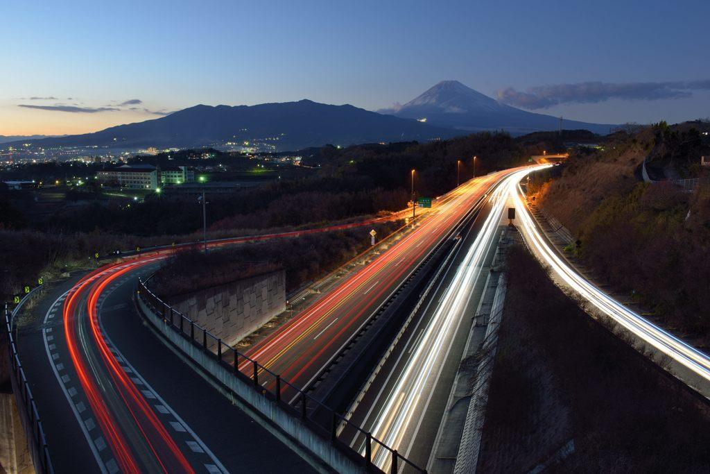 週末の富士山(新作383)