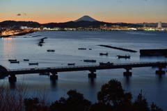 平日の富士山653