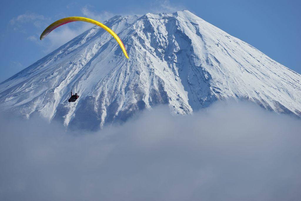 週末の富士山(新作84)