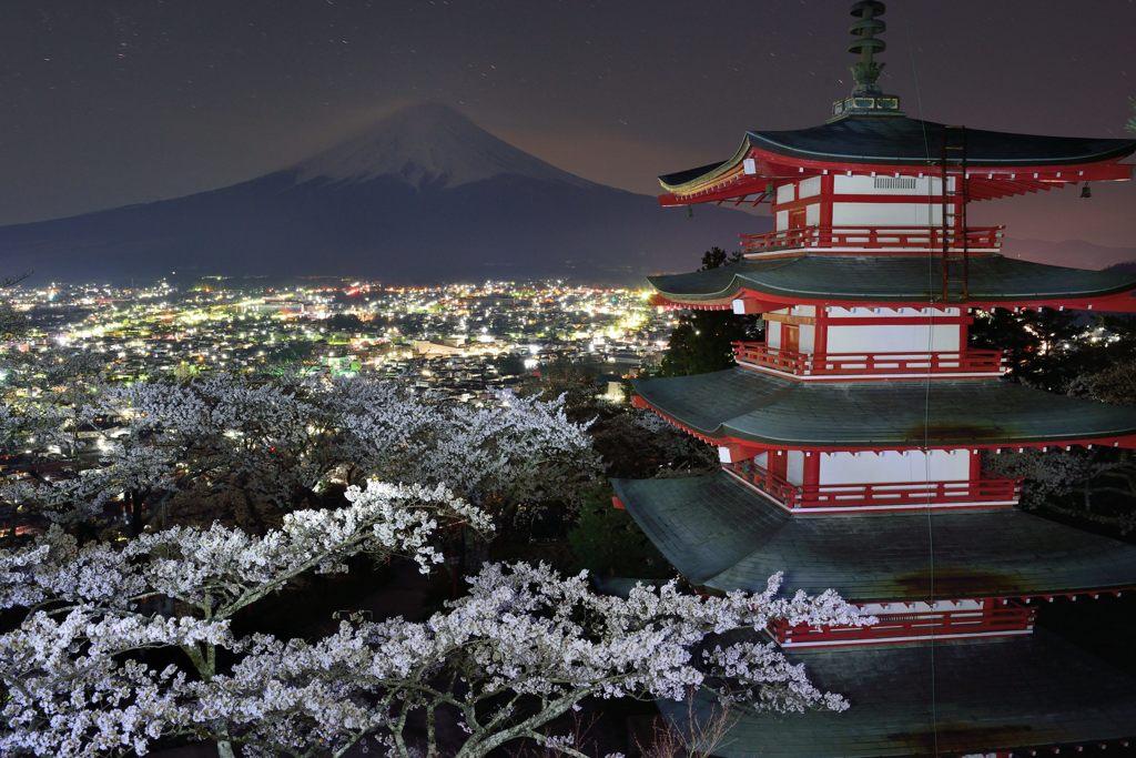 週末の富士山(新作194)