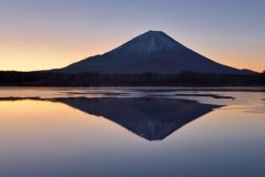週末の富士山(新作1086)