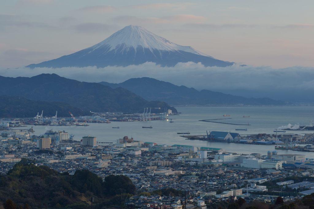 平日の富士山610