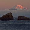 週末の富士山(新作119)