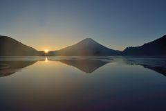 週末の富士山(新作1090)